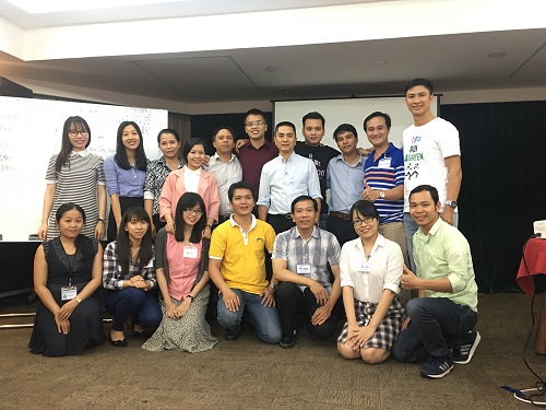 Train the trainer held in October, 2018